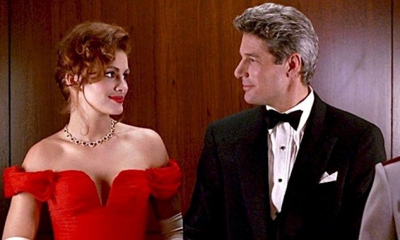 """3. Ричард Гир сыграл Эдварда Льюиса, однако он практически отказался от роли и не соглашался, пока Джулия Роберт не написала ему записку """"пожалуйста, скажите """"да"""". Ричард Гир, актеры, джулия робертс, кино, красотка, факты"""