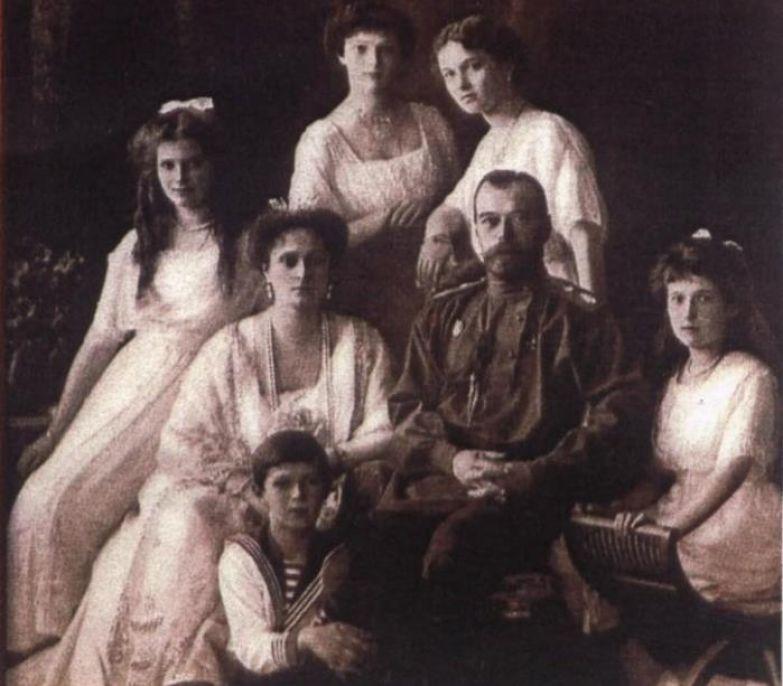 Императорская семья | Фото: retrobazar.com