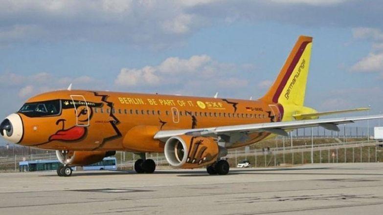 Немецкая бюджетная авиакомпания Germanwings. необычные самолёты, раскраска, самолёты