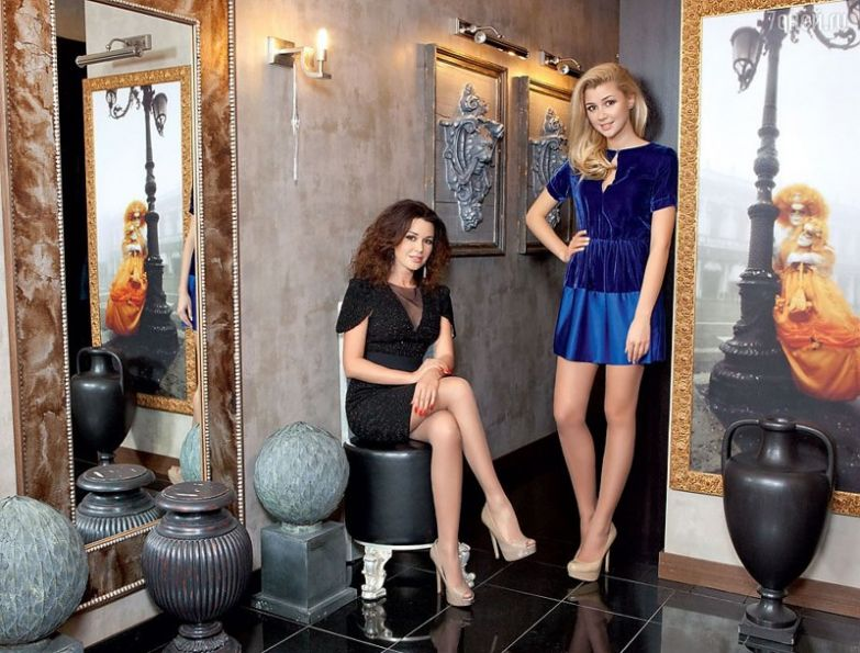 Анастасия и Анна Заворотнюк возраст, девушки, звезды, мамы