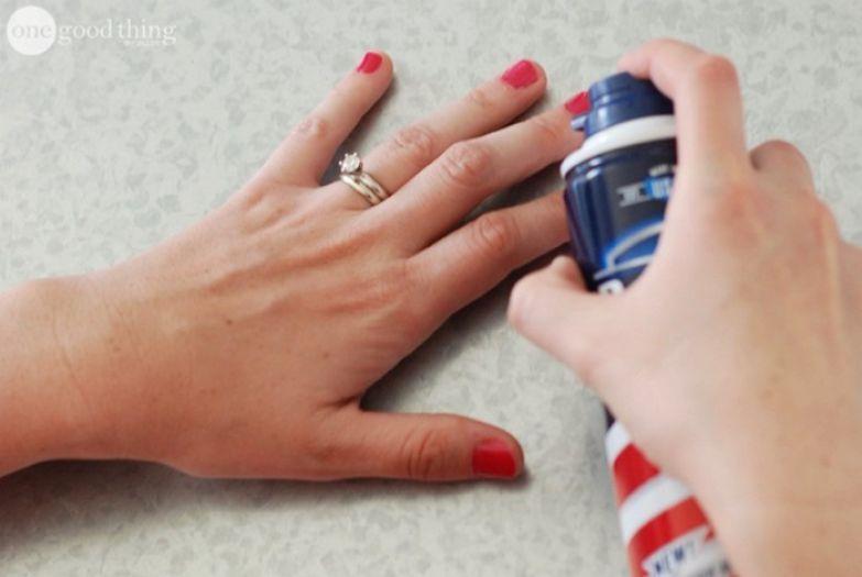 4. Убрать следы небрежного маникюра с кожи полезно, советы