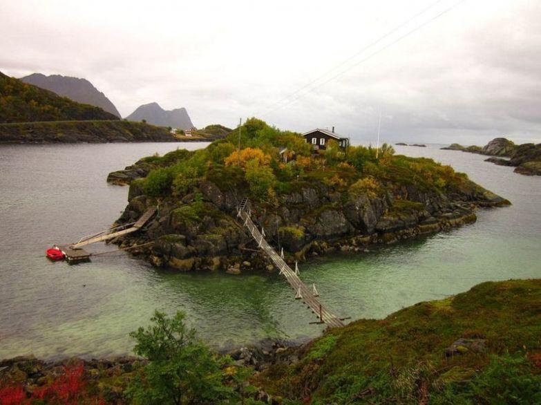 Остров Senja, Норвегия