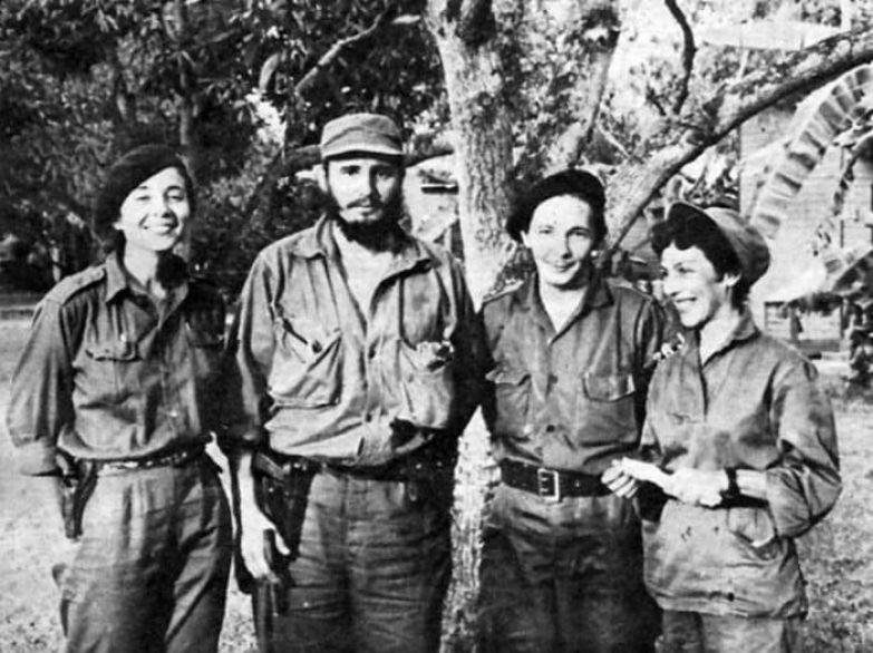 Селия Санчес и Фидель Кастро | Фото: cubagood.com