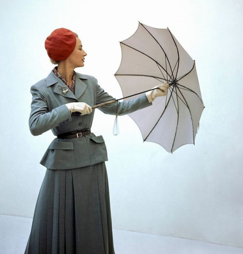 Осенняя коллекция 1949 года.