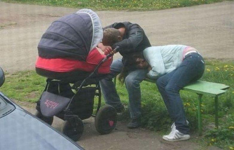 После рождения ребенка сон круче, чем секс дети, мама, папа, прикол, юмор