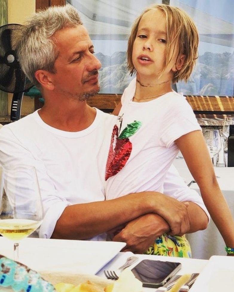 Богомолов с дочерью Анной