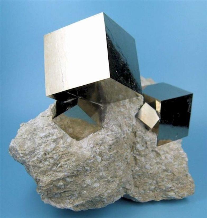 7. Эти идеальные кубы из пирита сформировались в природе естественным образом: интересные фото, удивительное рядом, факты