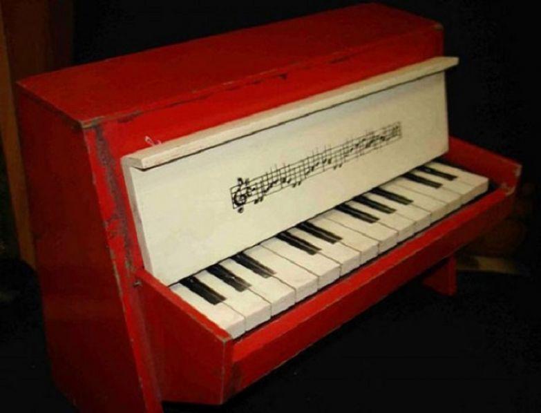Пианино для начинающих музыкантов.