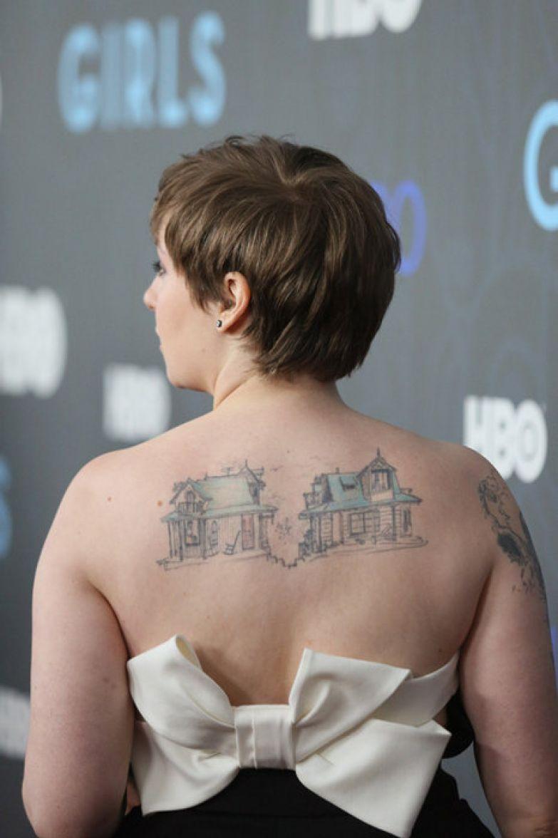 необычные татуировки знаменитостей фото