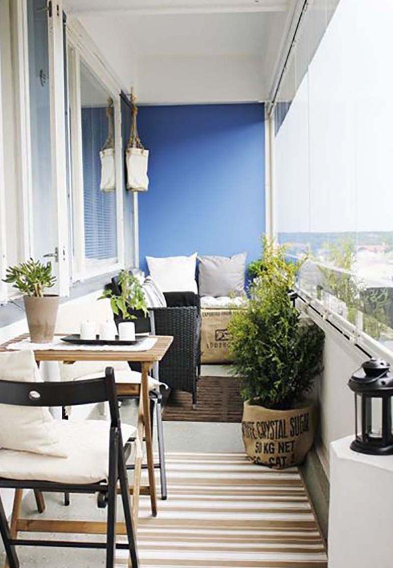 стильные идеи дизайна балконов