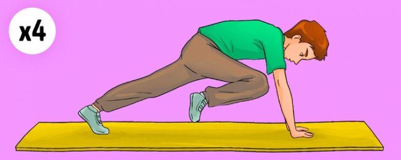 10 упражнений для избавления от жира на животе, которые можно выполнять дома