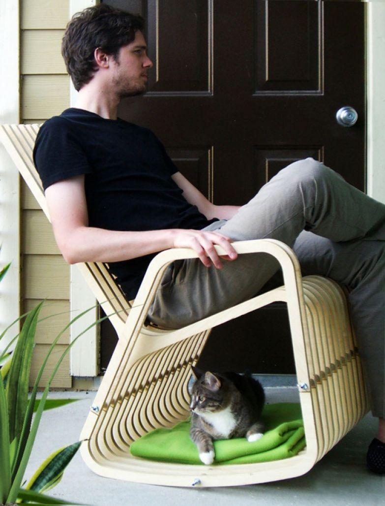 Кошачий интерьер 26