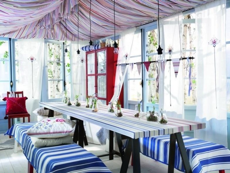 Фотография: Балкон, Терраса в стиле Кантри, Восточный, Декор интерьера, Декор дома, Прованс – фото на InMyRoom.ru