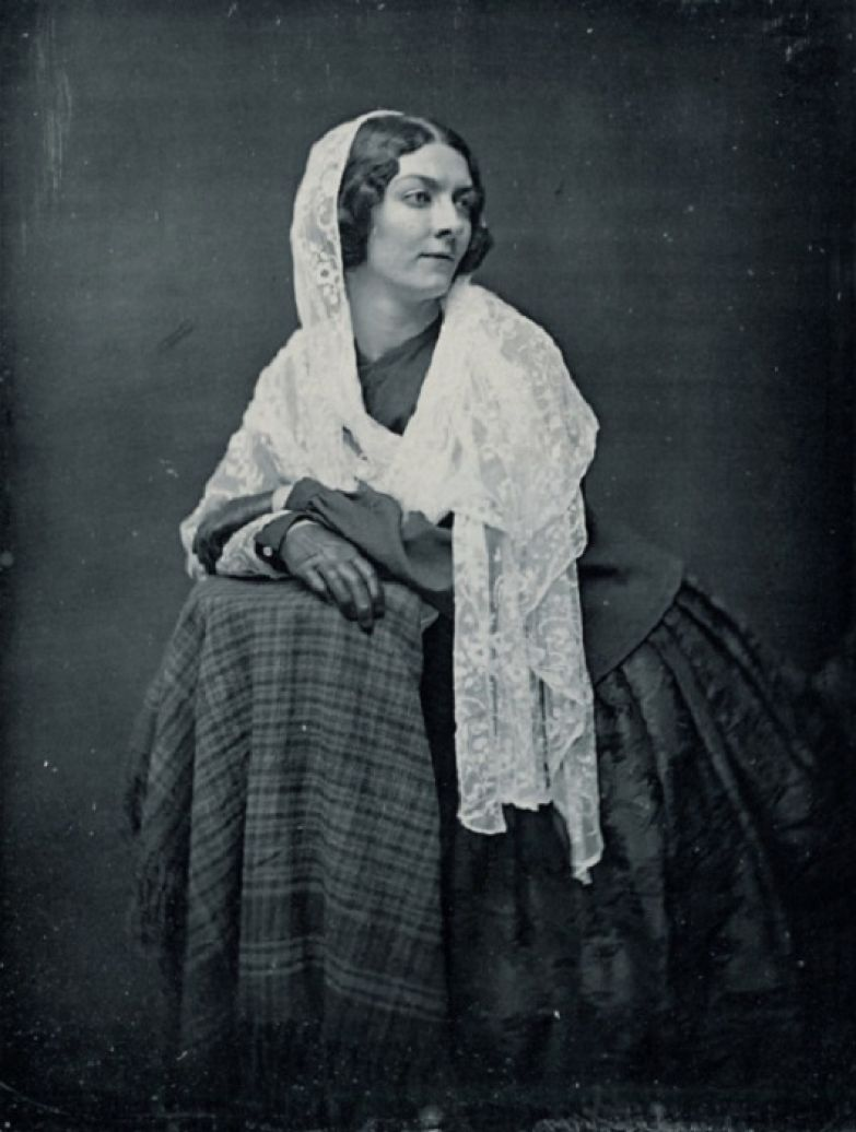 Лола Монтес в зрелые годы. | Фото: travsd.wordpress.com.