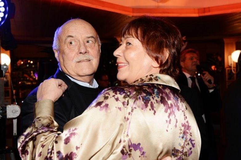 Станислав Говорухин с супругой Галиной