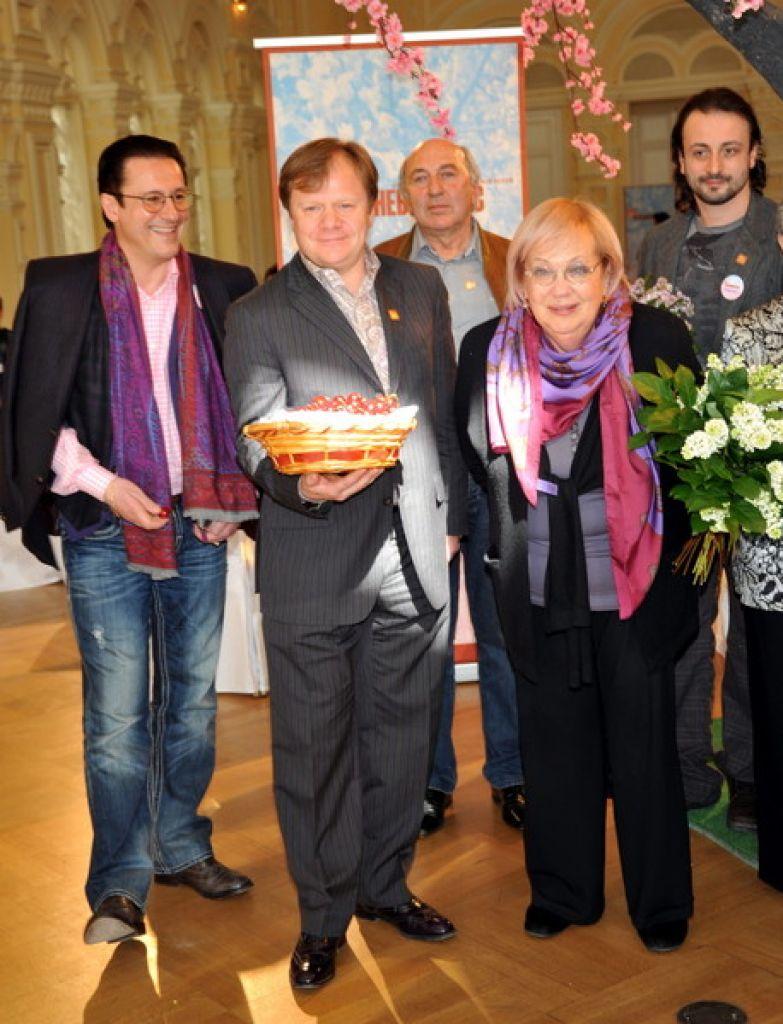 Раньше Галина Волчек часто посещала фестивали искусств, но в последние годы перестала