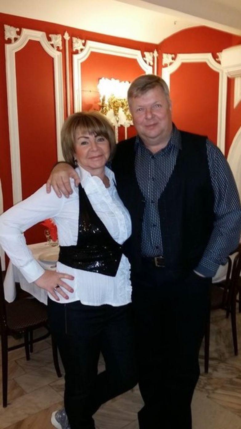 Михаил Вашуков с женой Валентиной