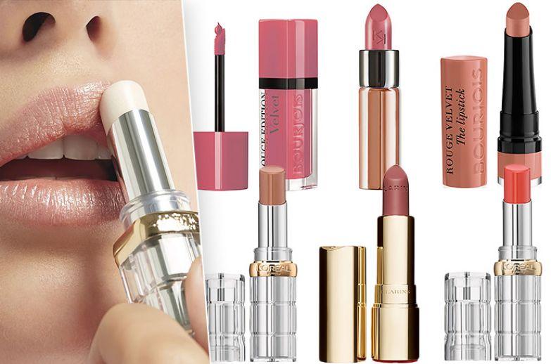 Фото: L'Oréal Paris. Помады: Bourjois Rouge Edition Velvet, Kiko Milano Velvet Passion,Bourjois Rouge Velvet the lipstick, L'Oreal Paris Color Riche Shine, Clarins Joli Rouge, L'Oreal Paris Color Riche Shine.