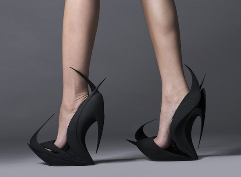 3D-Printed *Flames* Shoes.