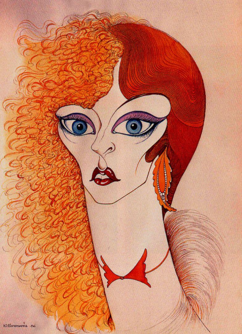 Анастасия Вертинская, 1986