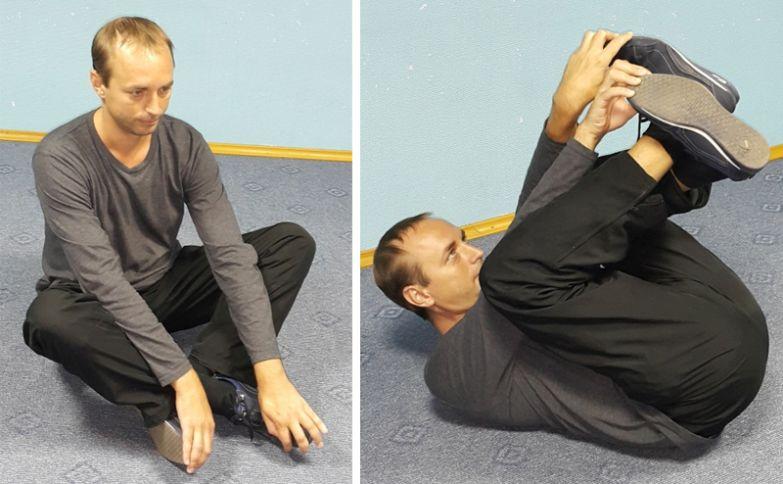 зарядка для спины