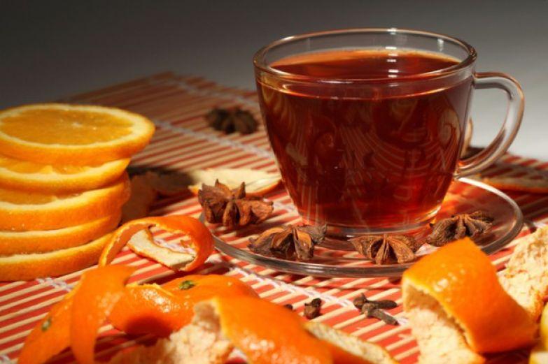 чай с цитрусовыми
