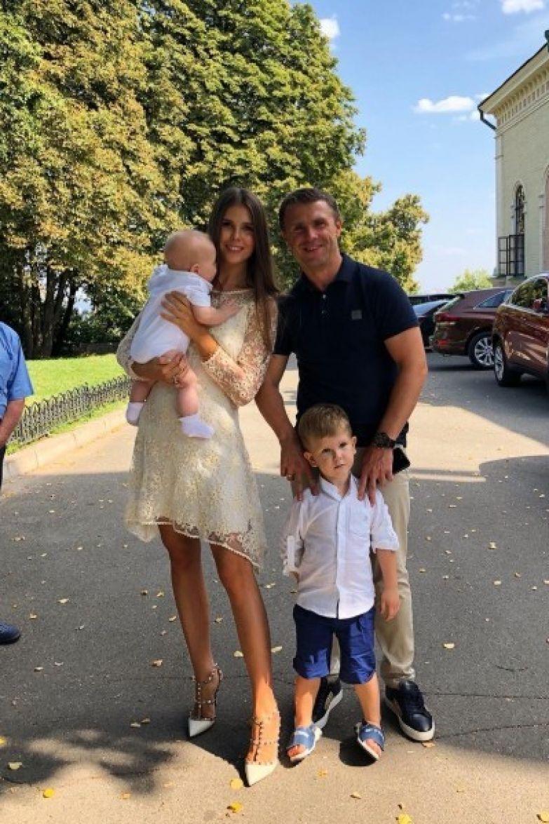 После романа с Ани Лорак Сергей Ребров снова женился
