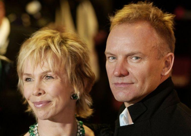 Крепкая семья: Стинг и Труди Стайлер./ Фото: vistanews.ru