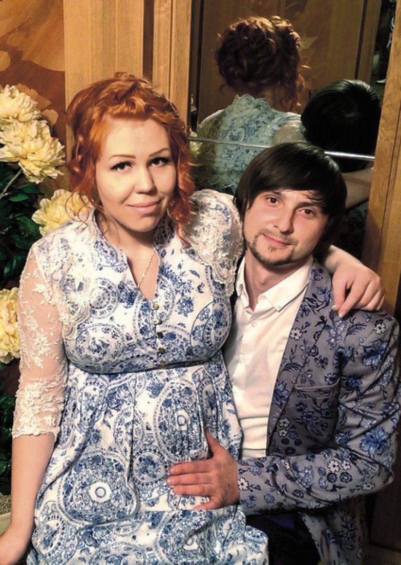 Недавно Юлия обвенчалась с избранником