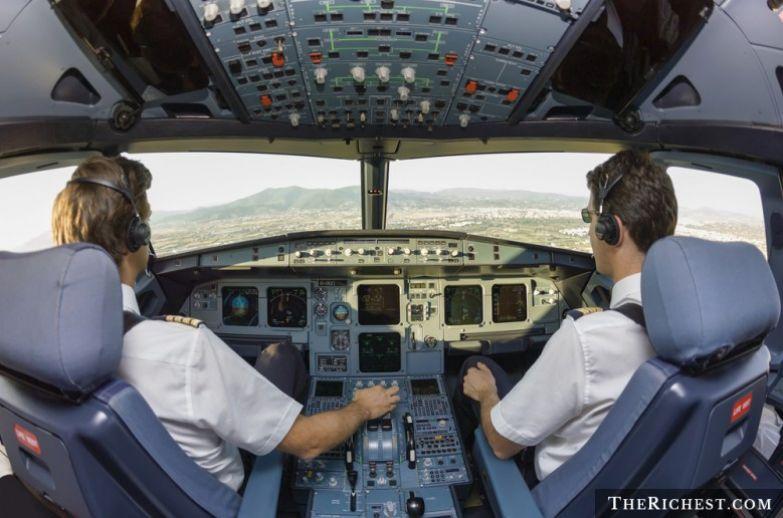 2. Пилотам нельзя есть вместе авиакомпании, самолеты, секреты, тайны