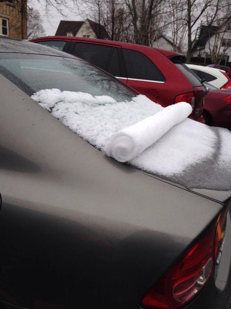 Интересно... подборка, снег, фотография, явление