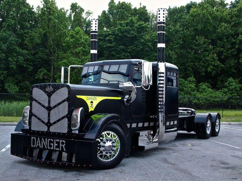 Опасный парень. Тракторы, автобусы, автомобили, грузовики, тюнинг