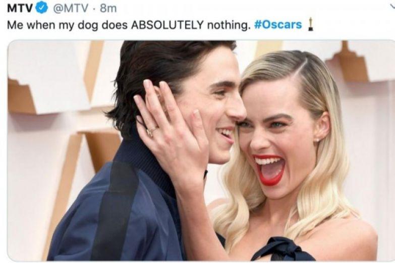 Забавные мемы на 'Оскар 2020', которые сделают твой день - фото 467146