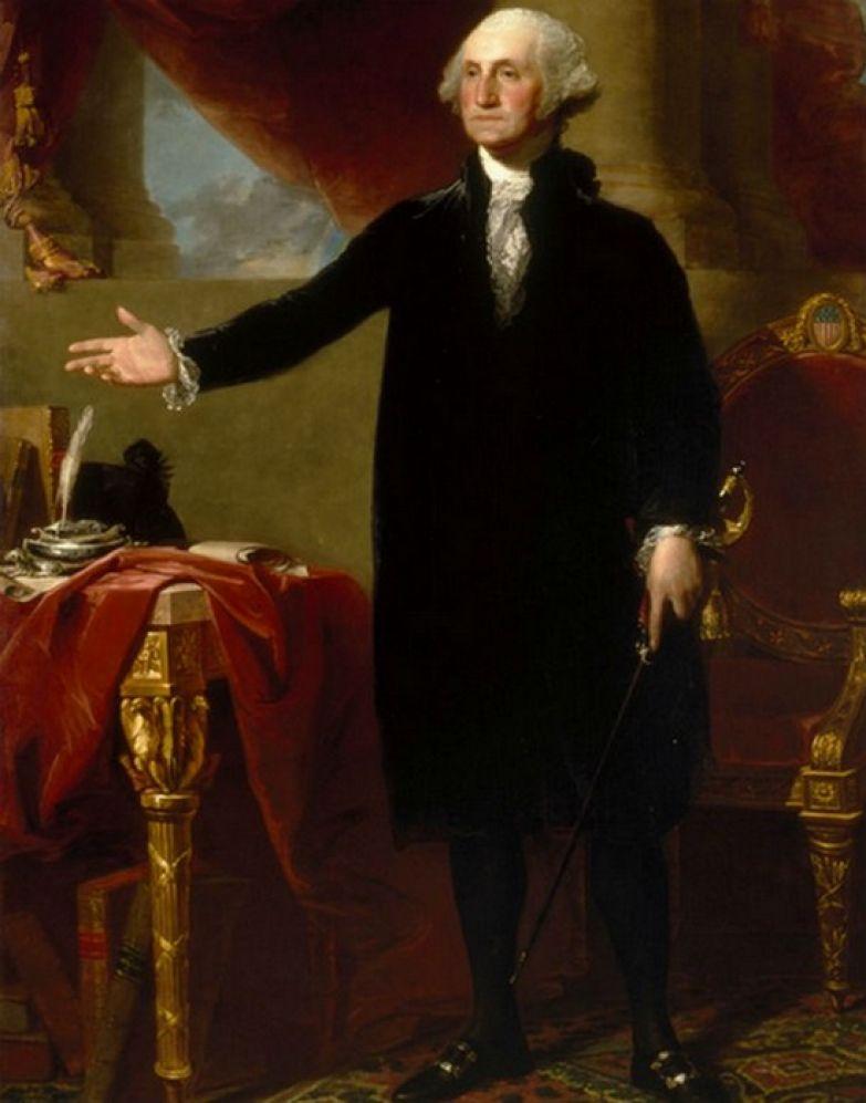 Отец-основатель США Джордж Вашингтон.