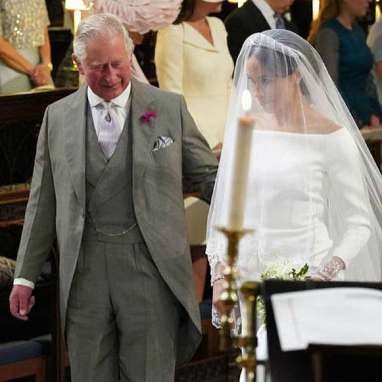Принц Чарльз проводил Меган к алтарю