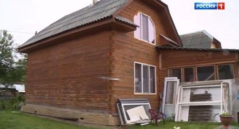Дом Владимирской в деревне