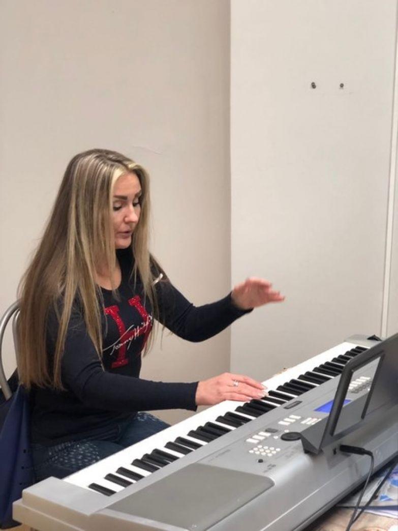 Олеся Слукина занимается также преподавательской деятельностью