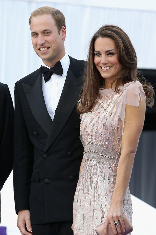 Кейт Миддлтон и принц Уильям, 2011