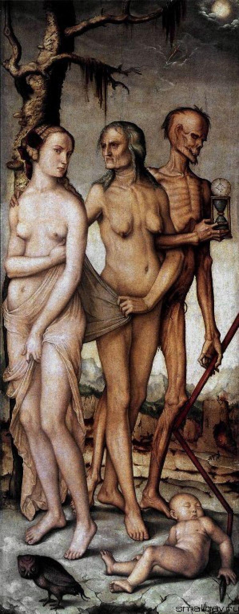 Ганс Бальдунг. Три возраста женщины и Смерть. 1509-11