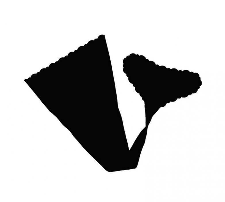 Наконец-то изобрели трусики-наклейки! дизайн, креатив, мода, трусики