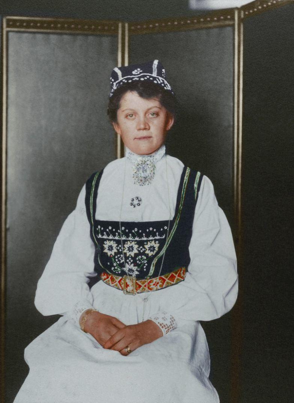 Норвежка, 1906 - 1914 (?) история, костюмы, сша, эмиграция