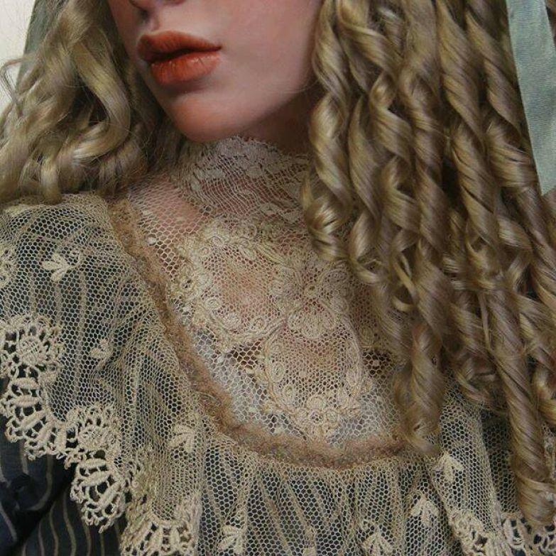 Поразительная разгадка того, что вы примете за голову девушки искусство, куклы, образ, художник