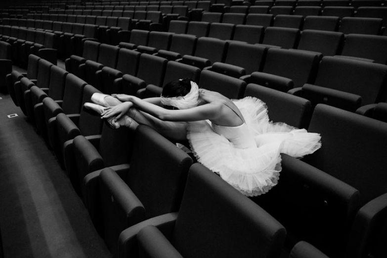 Фотографии балерин от Дарьян Волковой.