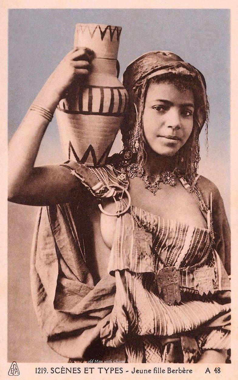 Берберская девушка фото