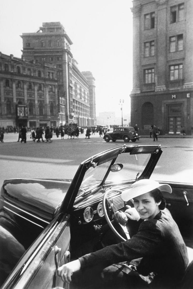 Михаил-Трахман.-Народная-артистка-СССР-балерина-Ольга-Лепешинская.-1940-е
