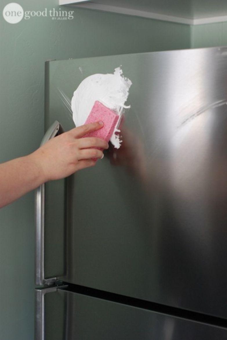 2. Почистить поверхности из нержавеющей стали и придать им блеск полезно, советы