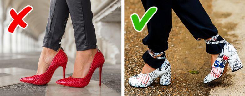 10+ устаревших моделей обуви, которые можно найти почти в каждом гардеробе (Пришло время их обнаружить и заменить)