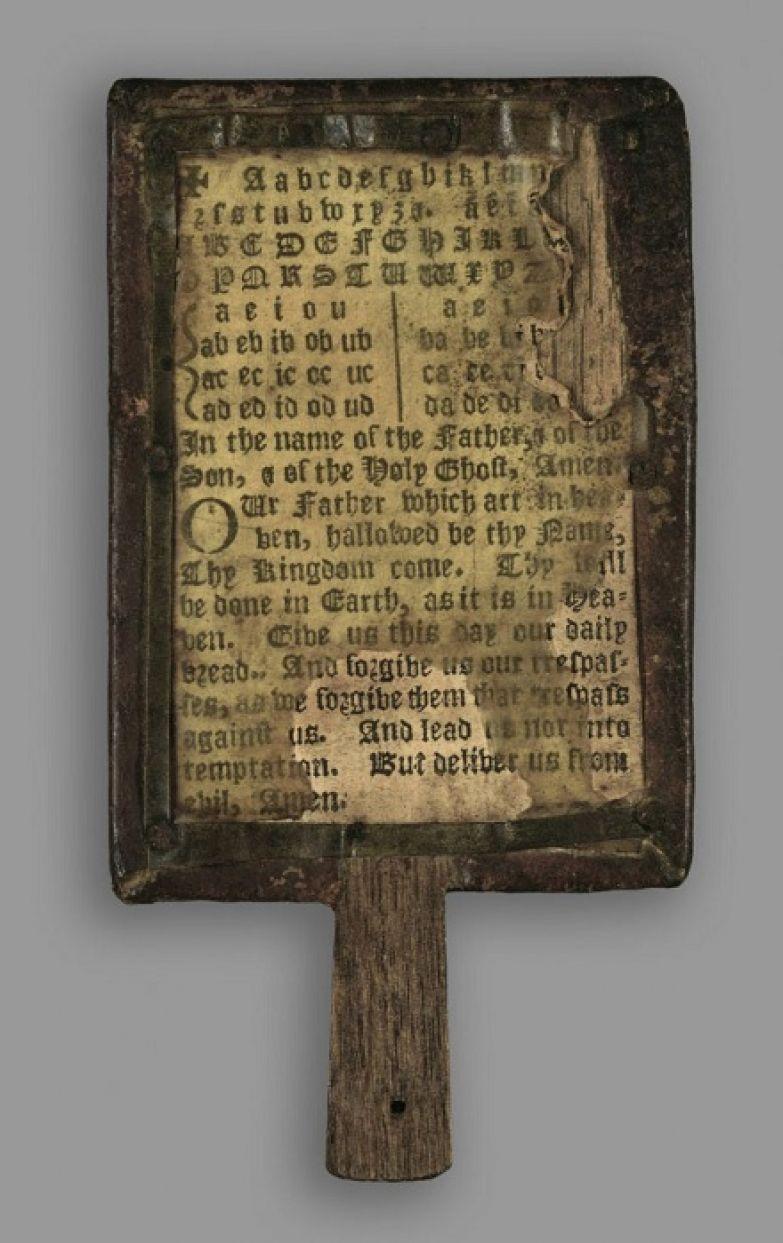 Детская азбука 17 века.