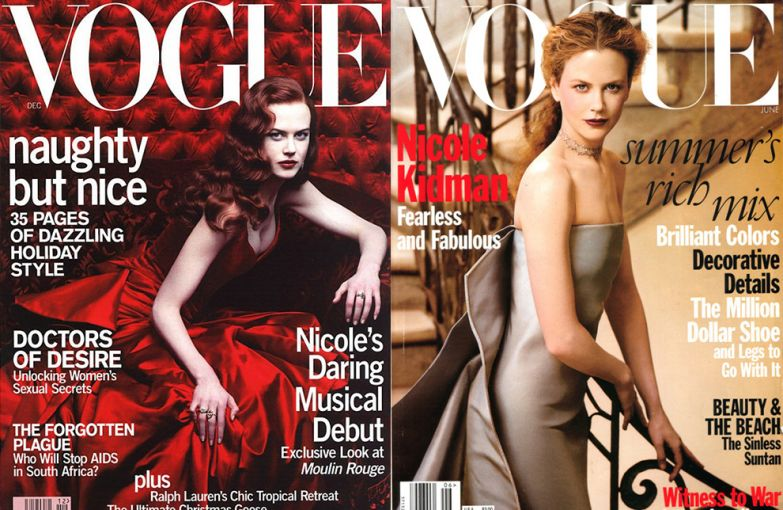 Vogue US, декабрь 2000; Vogue US, июнь 1999