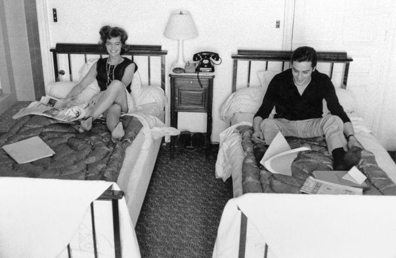 После помолвки в 1959 году Роми Шнайдер и Алена Делона называли «новобрачными Европы»